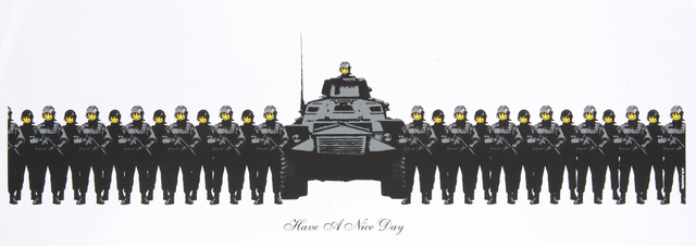 Banksy, 'Have A Nice Day', 2003, Tate Ward Auctions
