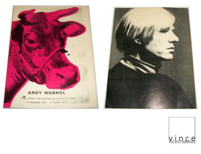 """Andy Warhol, '""""Andy Warhol"""", 1971, Exhibition Brochure/Catalogue, Musee D'art de la Ville de Paris. ', 1971, VINCE fine arts/ephemera"""