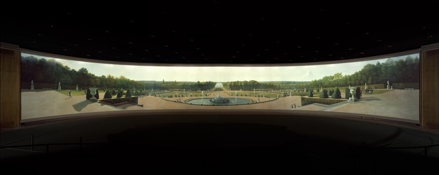 John Vanderlyn, 'Panoramic View of the Palace and Gardens of Versailles', 1818–1819, The Metropolitan Museum of Art