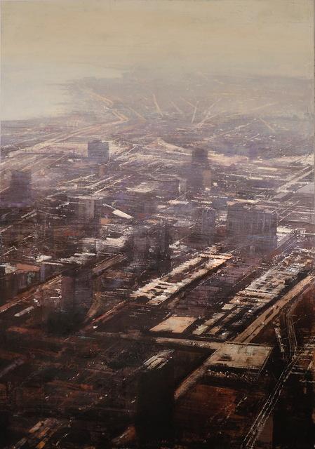 , 'Industrial Chicago,' 2016, Flecha