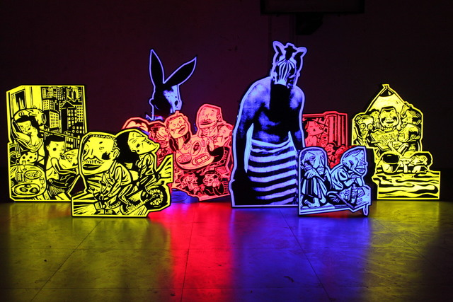 , 'Light Box,' 2014, EGG Gallery