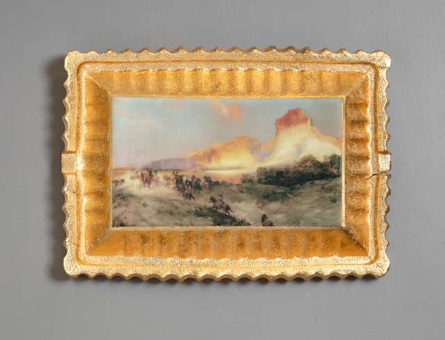 Evan Hauser, 'Preservation & Use (Green River Cliffs, Wyoming, Thomas Moran, 1881)', ca. 2018, Ferrin Contemporary