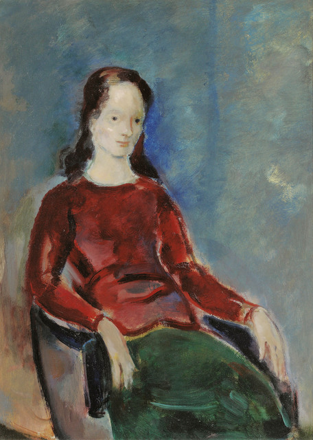 Josef Floch, 'Lady with red Top', 1955, Galerie Kovacek