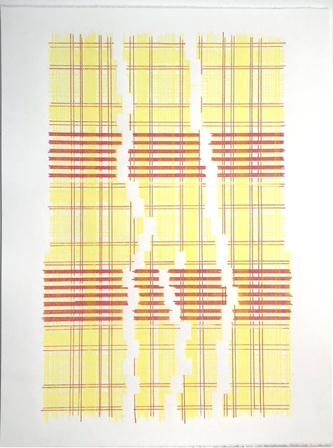 , 'Yearning Fora new Physics (Plaid),' 2018, MARQUEE PROJECTS