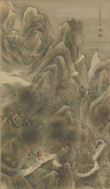 , 'The Road to Shu. Japan, Edo period (1615–1868),' 1830, The Metropolitan Museum of Art