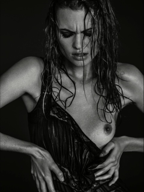 , 'Behati Wet Black Dress Portrait,' 2013, Nomad Two Worlds Gallery