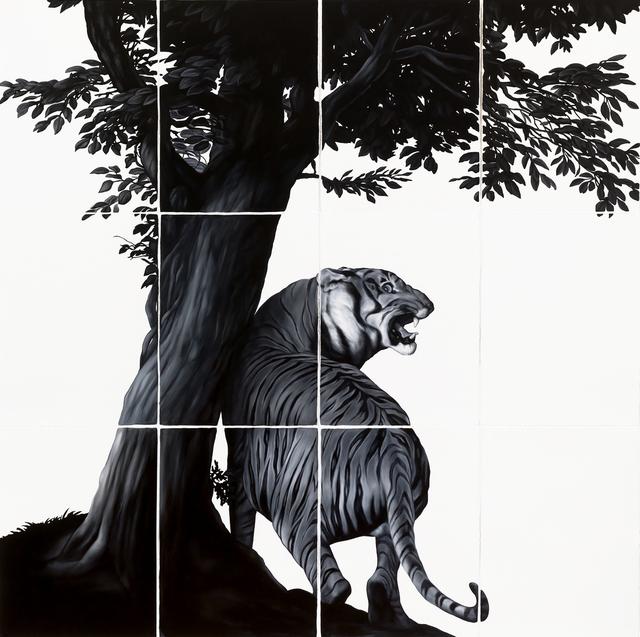 , 'Tiger (after Janssen and Landseer),' 2017, Visions West Contemporary