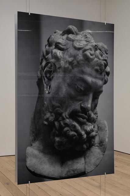 , 'Head of Hercules 1,' 2018, MARTOS GALLERY