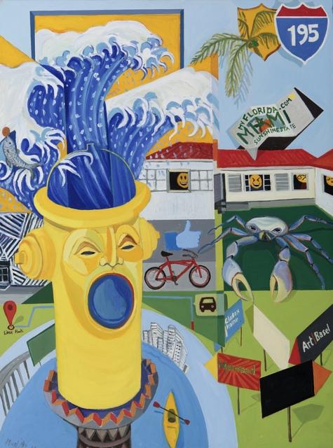 Richard Mudariki, 'On Residency', 2016-2018, Barnard