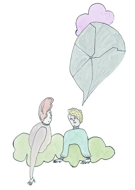 , 'dom berättade om sina relationer,' 2007, Andréhn-Schiptjenko