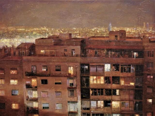 , 'Cau la nit,' 2017, Sala Parés