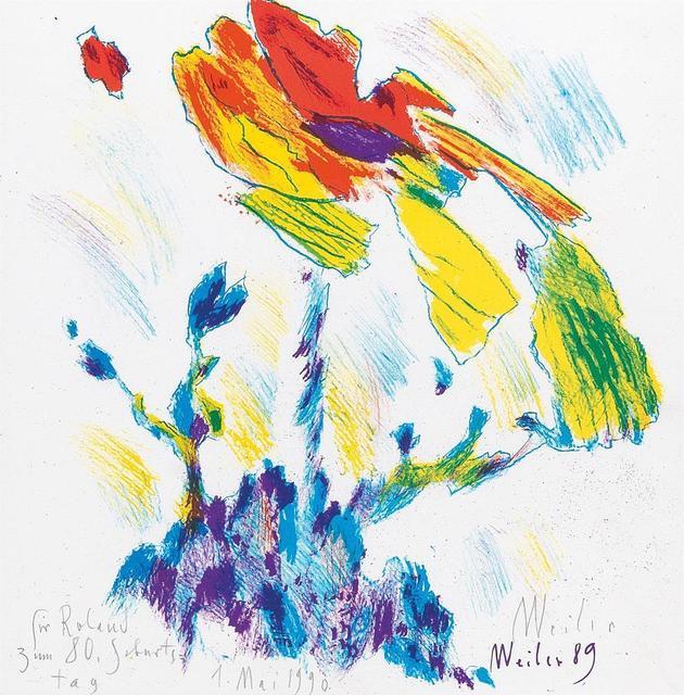 , 'Blume,' 1989, Galerie Kovacek & Zetter