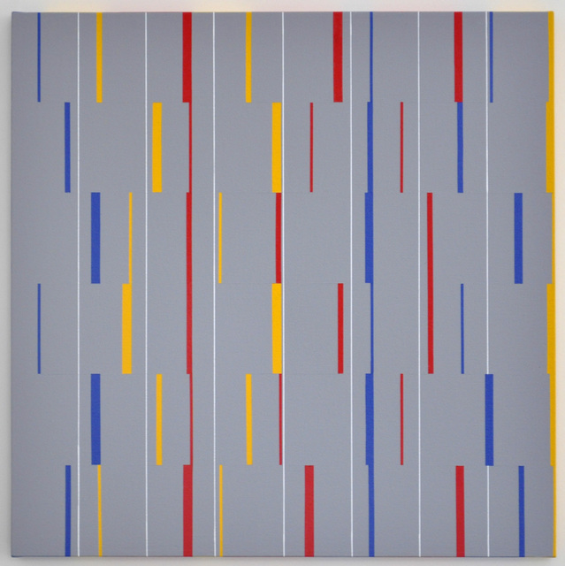 , 'Partition verticale 3-6-9 n°XIII,' 2005, Galerie Lahumière