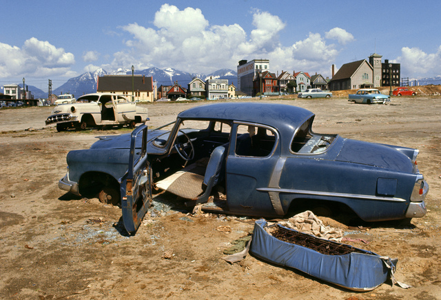, 'Blue Car Strathcona,' 1967, Equinox Gallery