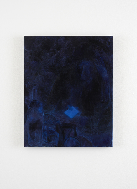 , 'Anna on the phone at Kachka (2),' 2016, Klowden Mann