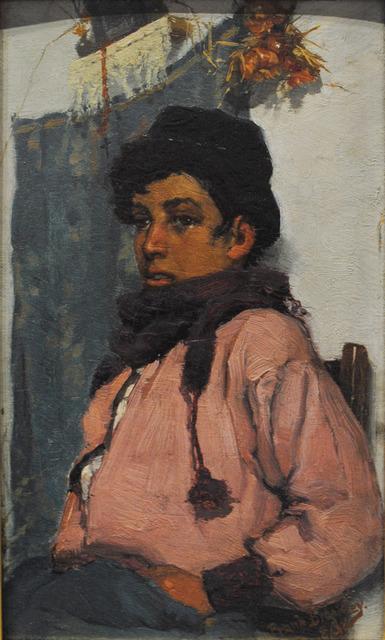 , 'Italian Fisherboy,' 1883, Waterhouse & Dodd