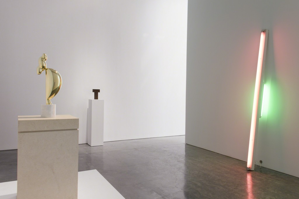 Installation view of Brancusi: Pioneer of American Minimalism at Paul Kasmin Gallery