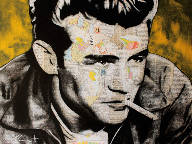 André Monet​, 'James Dean Smoke', 2019, Art Angels