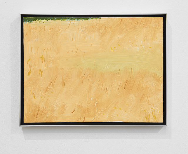 Alex Katz, 'Field 1', 2017, Painting, Oil on board, Timothy Taylor