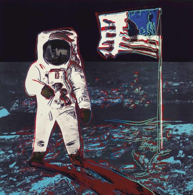 Andy Warhol, 'Moonwalk: one plate', 1987, Christie's