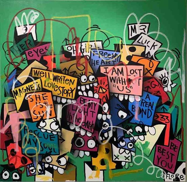 FLORE, 'Well Written Love Story', 2019, DTR Modern Galleries