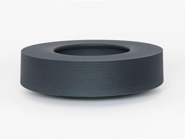 Ian McDonald, 'Soft Stoneware Low Form (Green/Black)', 2019, Patrick Parrish Gallery