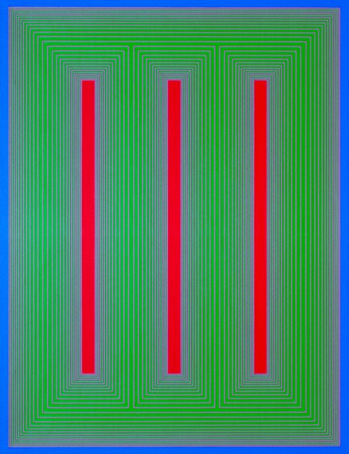 , 'Temple of Blue, Green, and Red,' 1984, WOLFS