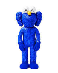 KAWS, 'BFF (Blue)', 2017, Digard Auction