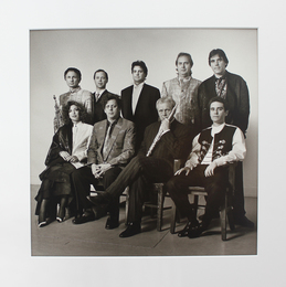 The Philip Glass Ensemble in Clothes from Dianne B.