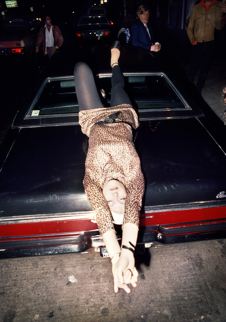 , 'Woman Reclining on Car,' 1977, Casemore Kirkeby