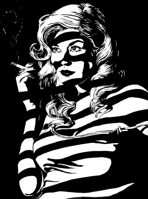 Tom Duffy, 'Smoking Lady', 2016, DETOUR Gallery
