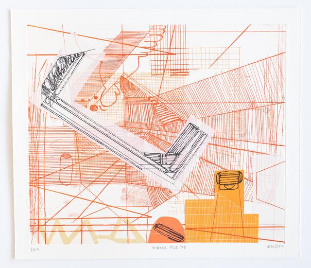 , 'Winter File 35,' 2019, David Krut Projects