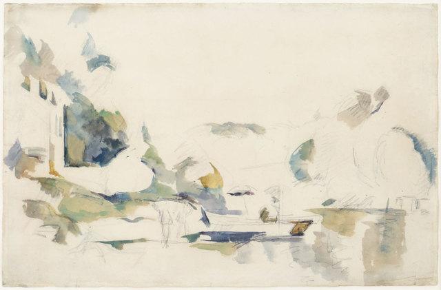 , 'La Barque, Le Lac D'Annecy,' 1896, Jill Newhouse Gallery