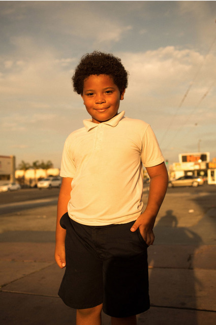 , 'Boy in White Shirt,' 2016, ROSEGALLERY
