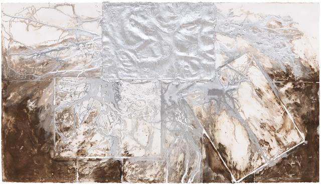 Leonardo Drew, '33P,' 2014, Pace Prints