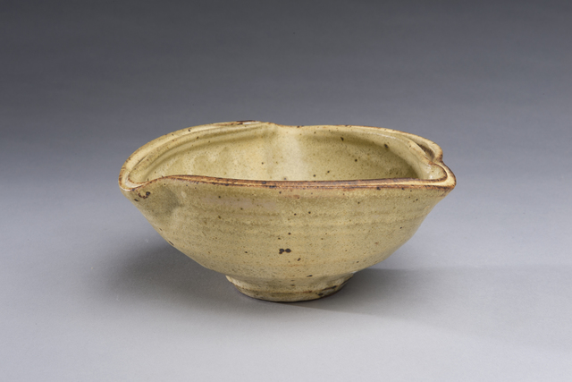 , 'Yellow Curved Bowl, Double Rim, Small,' , LACOSTE / KEANE GALLERY