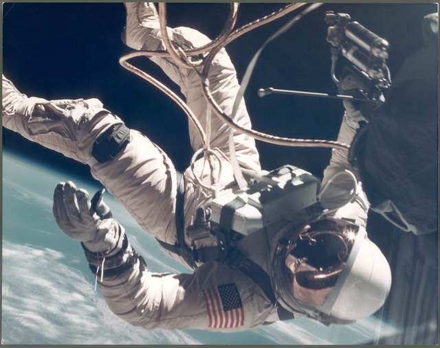 , 'Ed White walking in space over New Mexico (EVA) (Large Format), Gemini 4, June 1965,' , Attollo Art