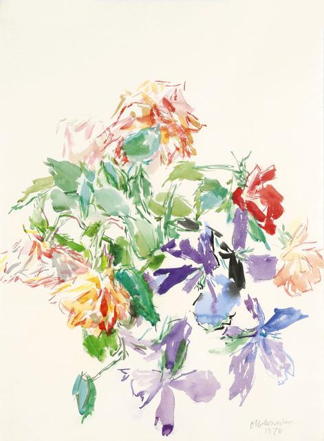 , 'Bouquet of flowers,' 1970, Galerie Kovacek