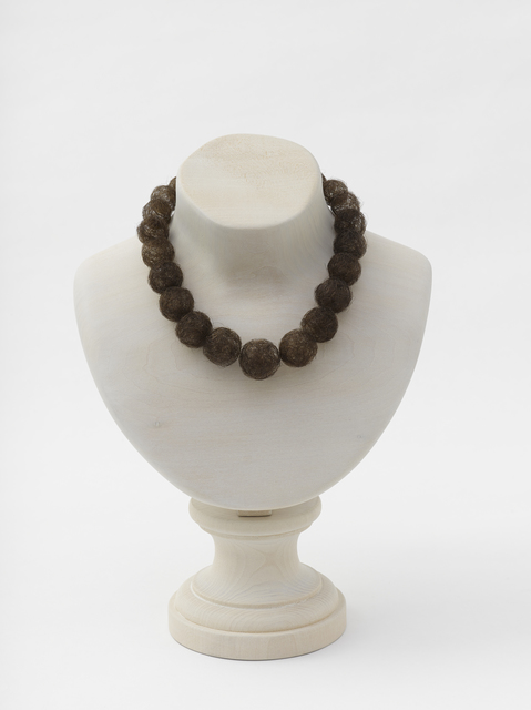 , 'Hair Necklace (wood),' 2013, Galerie Chantal Crousel