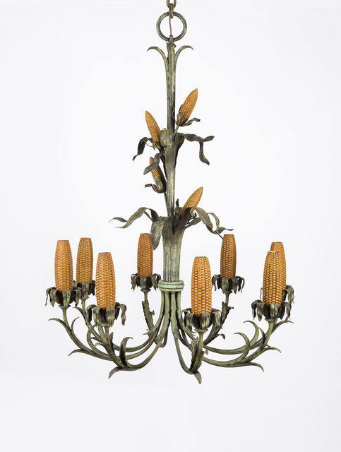 , 'Corn Cob Chandelier for Iowa Corn Room,' 1925, Whitney Museum of American Art