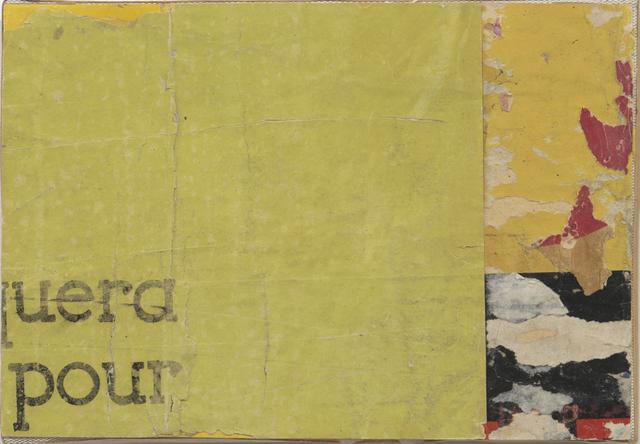 , 'Quera pour,' 1956, Modernism Inc.