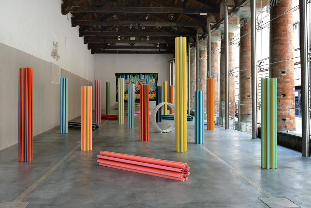 Matteo Nasini  Neolithic Sunshine  Centro Arti Visive Pescheria, Pesaro 2018