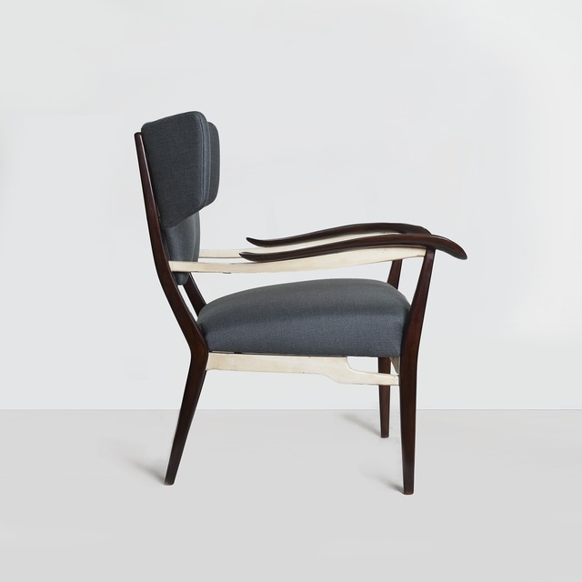 , 'Rare and Important Pair of Lounge Chairs,' ca. 1947, Nicholas Kilner