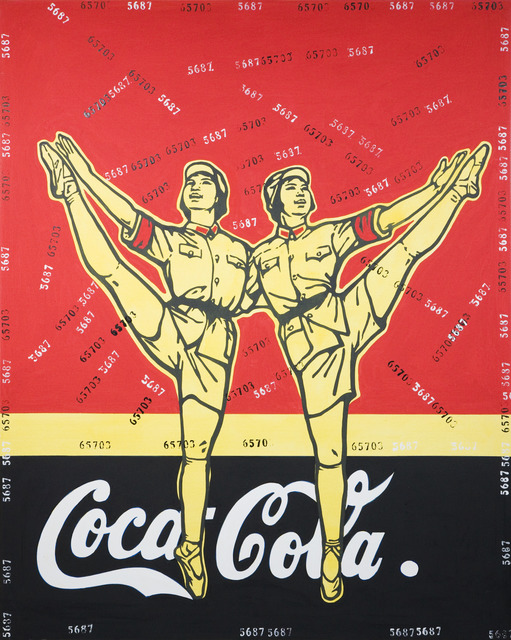 , 'Great Criticism - Coca Cola,' 2005, Opera Gallery