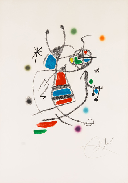 Joan Miró, 'Untitled from Wonders with Acrostic Variations in the Garden of Miró', 1975, Christopher-Clark Fine Art