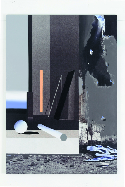 , 'Raum 1302 Floß (Atelier-Interieur),' 2016, Galerie Hans Mayer