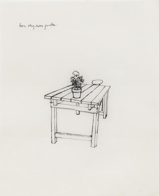 Shelagh Wakely, 'her very own garden', 1974-1979, Richard Saltoun
