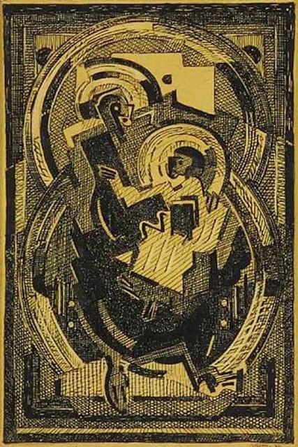 , 'Maternite,' 1936, F.L. Braswell Fine Art