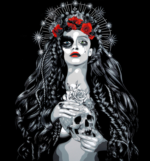 Juliette Clovis, 'Santa Muerte 2', Art Angels