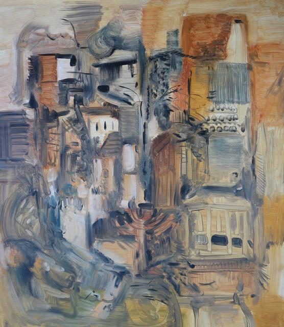 , 'Village,' 2018, Blue Hill Fine Arts